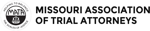 Logo Recognizing Law Office of Kevin J. McManus's affiliation with the Missouri Association of Trial Attorneys